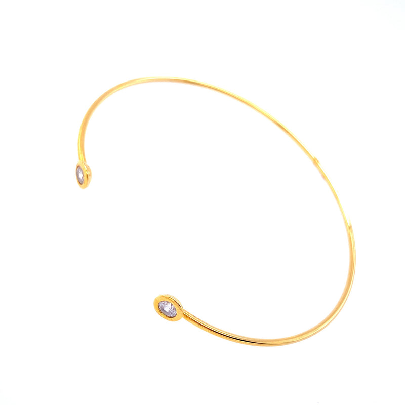 Dainty Open Bangle Bracelet