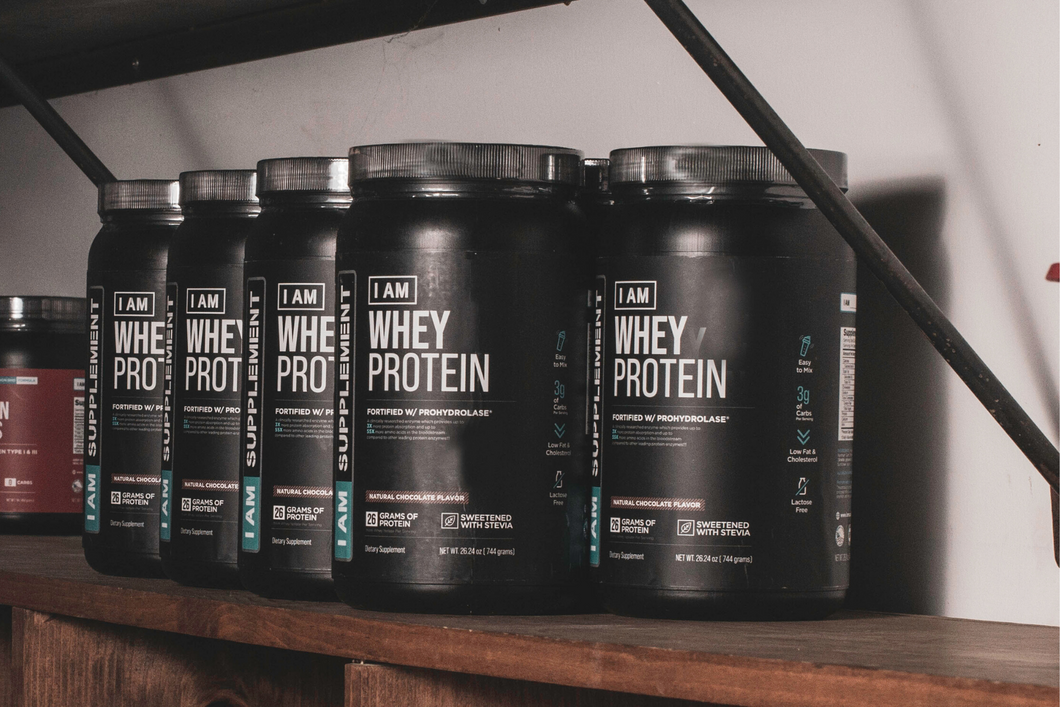 I AM Whey Protein - Chocolate