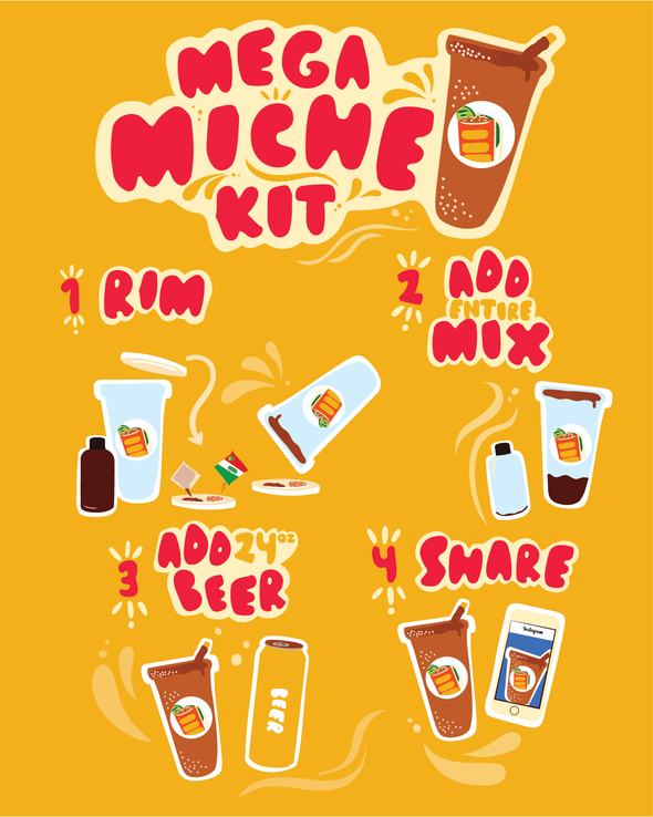 WHOLESALE MEGA MICHE KITS (24 PER CASE)