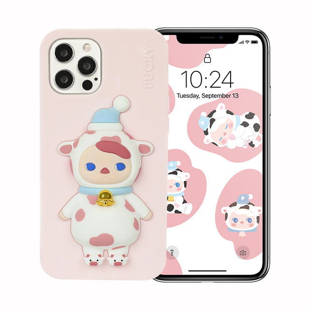 POP MART Pucky Milk Babies Phone Case - popmart global