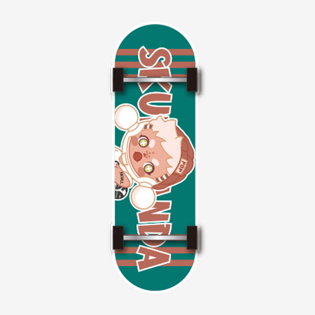 Pop Mart Skullpanda Hypepanda Series Finger Skateboard - popmart global