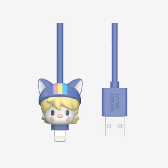 Pop Mart Sweet Bean Animal Babies USB Cable - popmart global