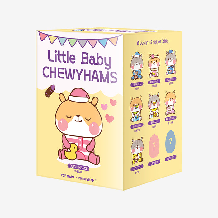 Pop Mart Little Baby Chewyhams series - popmart global