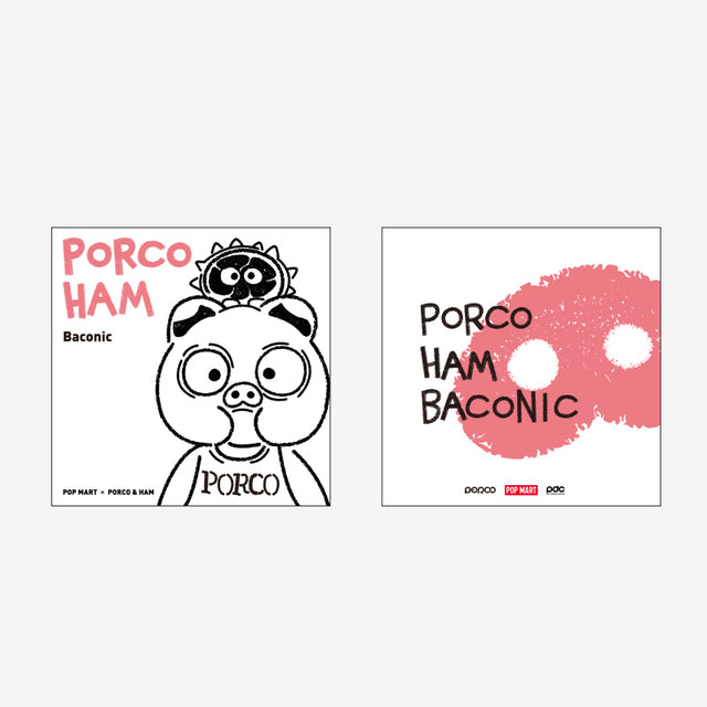 Pop Mart Porco & Ham -Baconic[limited edition] - popmart global