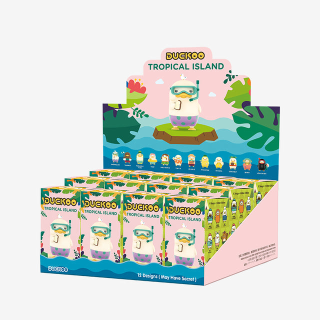 Pop Mart Duckoo Tropical Island series - popmart global