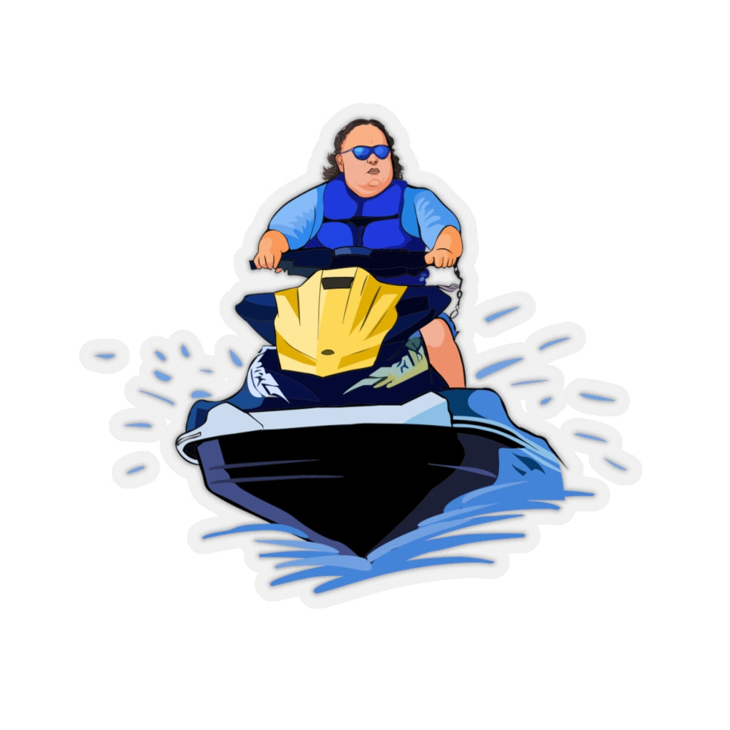 Tiger King Jetski Sticker