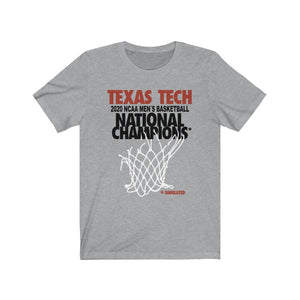 Texas Tech 2020 Simulated Champs* Shirt