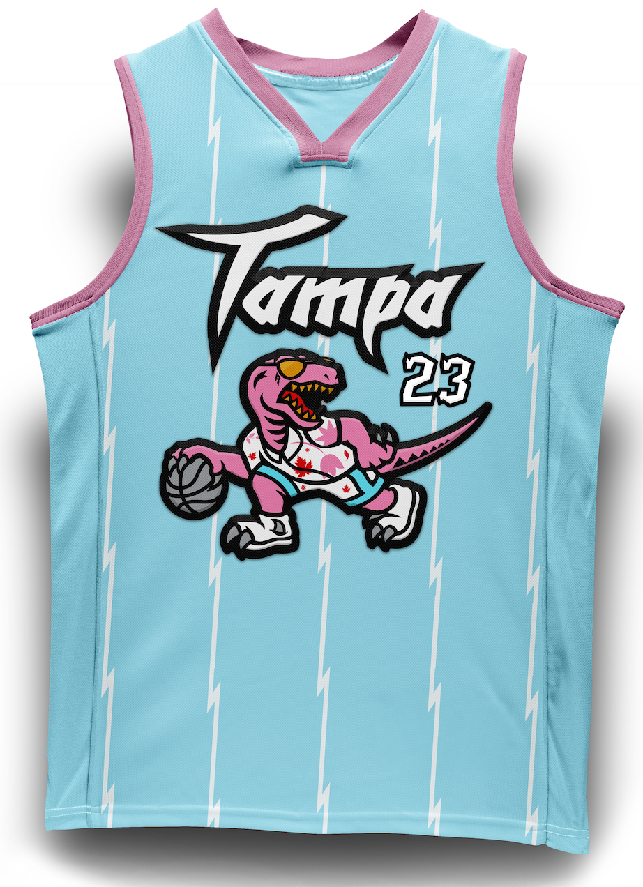 The Tampa Raps Special Edition Jersey- Blue Edition