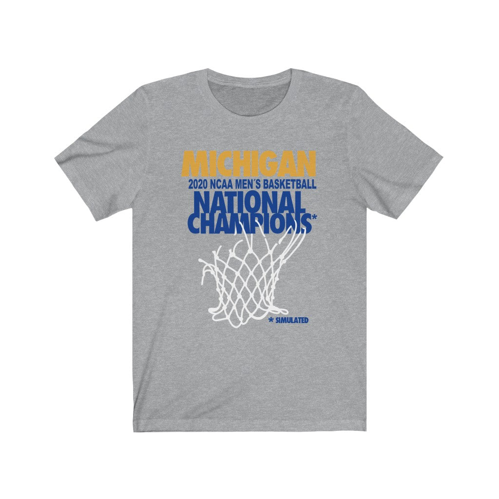 Michigan 2020 Champs* Shirt