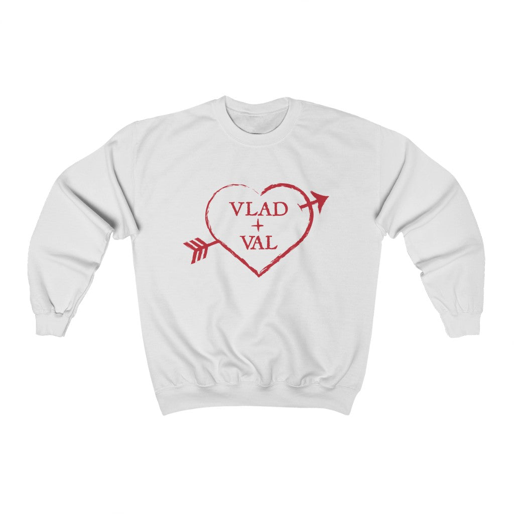 Vlad and Val Unisex Sweatshirt