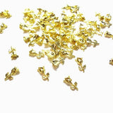 9x5mm 3D Gold Rose