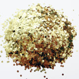 "Icarus Gold Loose Glitter, .060"" Hex, 1.5mm, 1/16"
