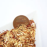 Caramel Bronze Tinsel, 0.3x4.7mm