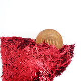 Candy Apple Red Tinsel, 0.2x3mm