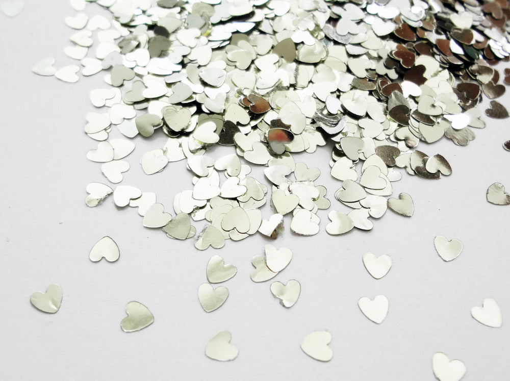 Nickel Silver Heart Shape, 3mm SALE IMPERFECT