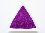"Eggplant Purple Loose Ultra Fine Glitter, .008"" Hex, 0.2mm 1/128 Solvent Resistant Glitter"