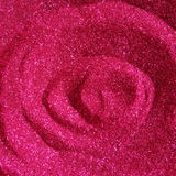 "Deep Rose Pink Loose Ultra Fine Glitter, .006"" Hex, 0.15mm, 1/170"