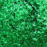 "Clover Green Loose Glitter, .040"" Hex, 1mm, 1/24"