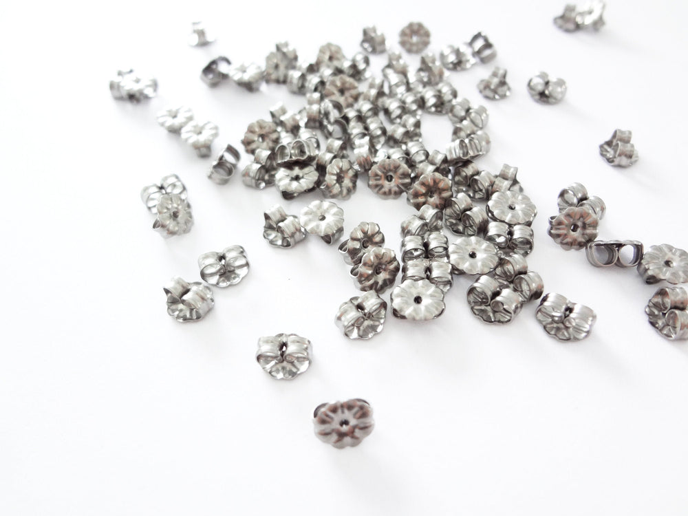 Titanium Earring Backs, Hypoallergenic Ear Clutches