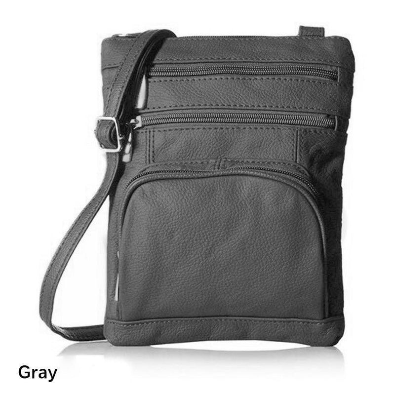 Super Soft Leather Crossbody Bag
