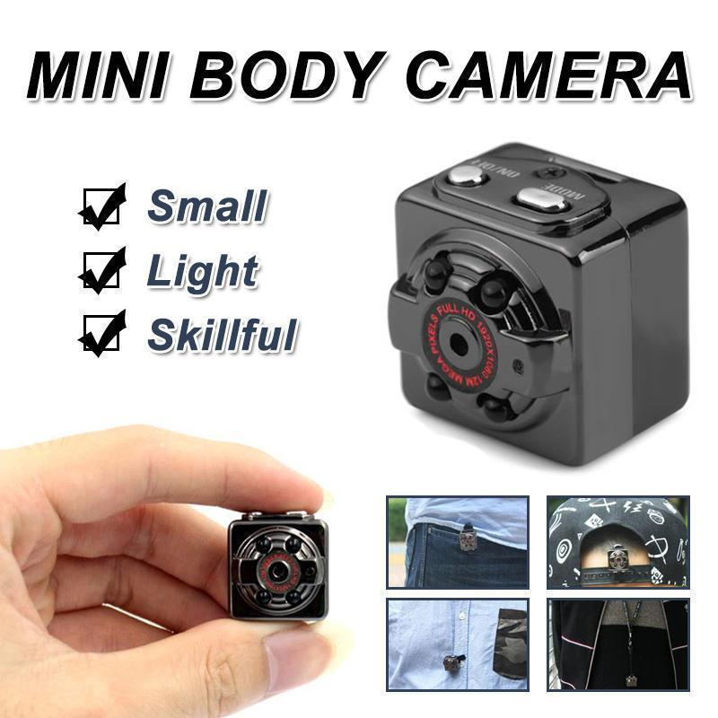 HD 1080P Mini Body Camera