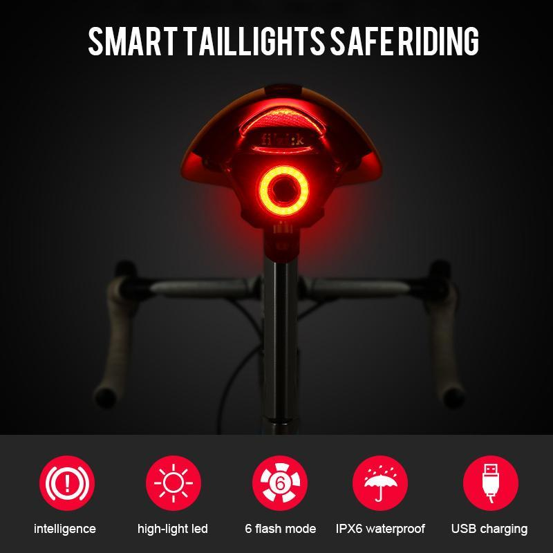 Ultra-Smart Bike Tail Light
