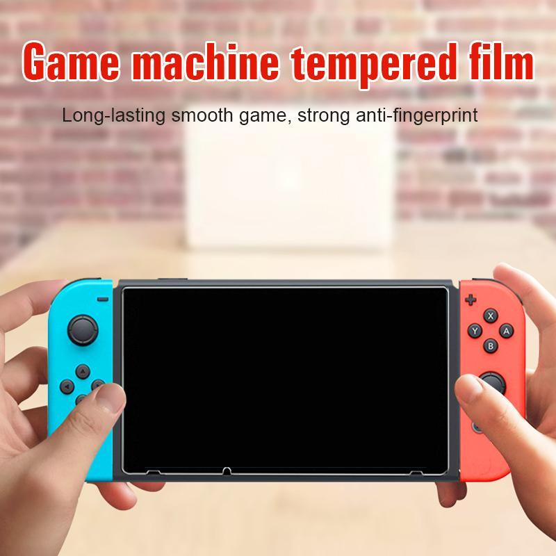 Game machine tempered film