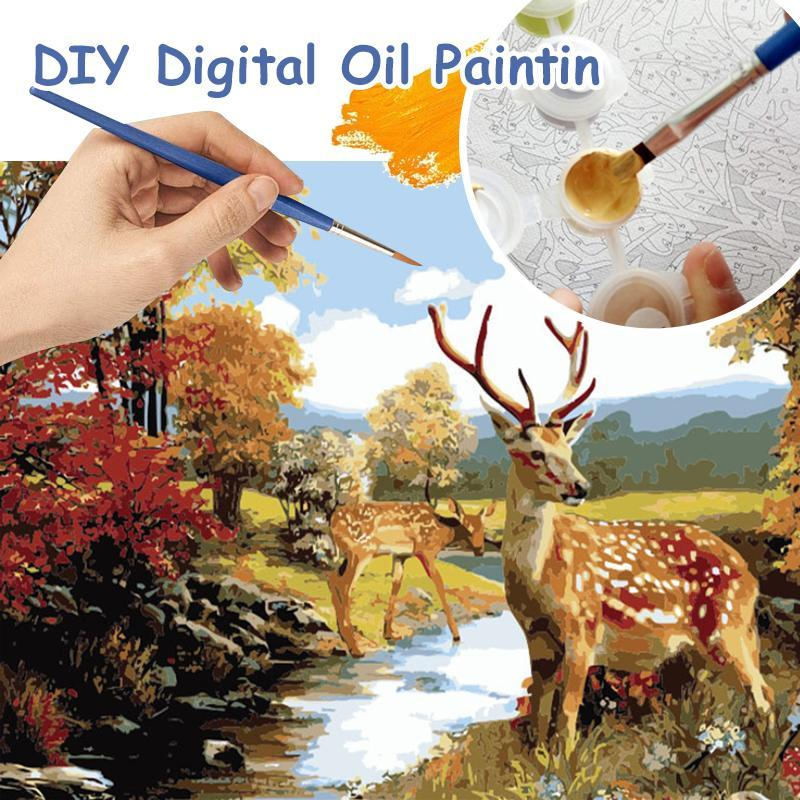 Cabinsight™ DIY Oil Painting By Numbers