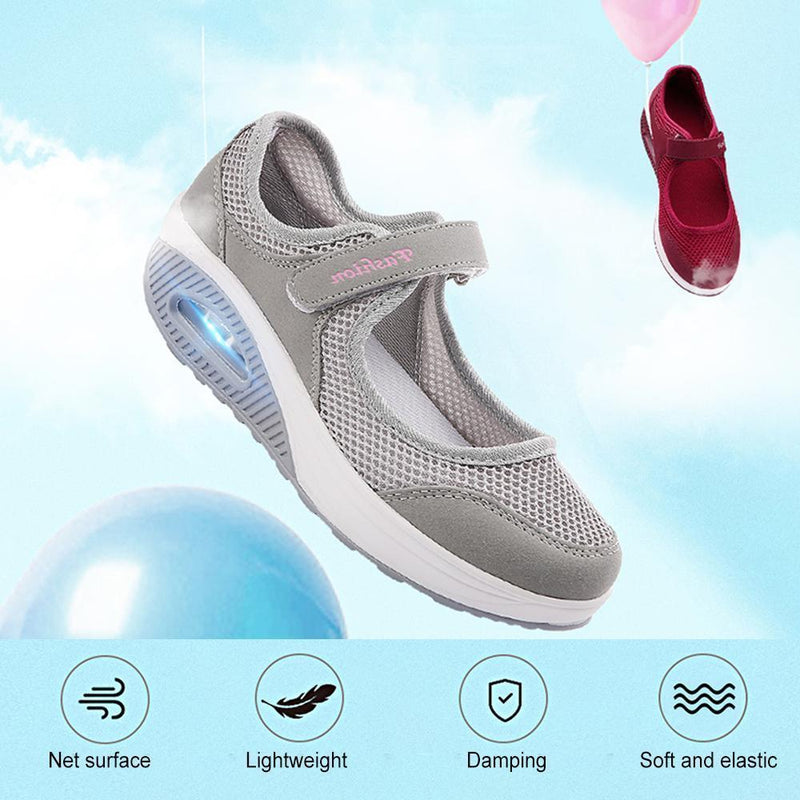 Flying Woven Cosy Walking Shoes