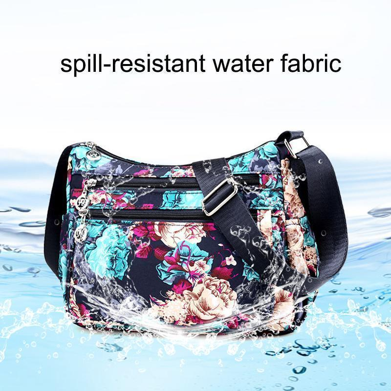 Floral Large Capacity Shoulder Bag