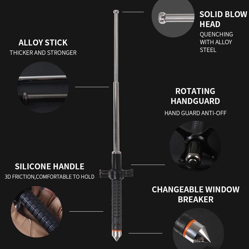 Retractable Self-Defense Telescopic Stick