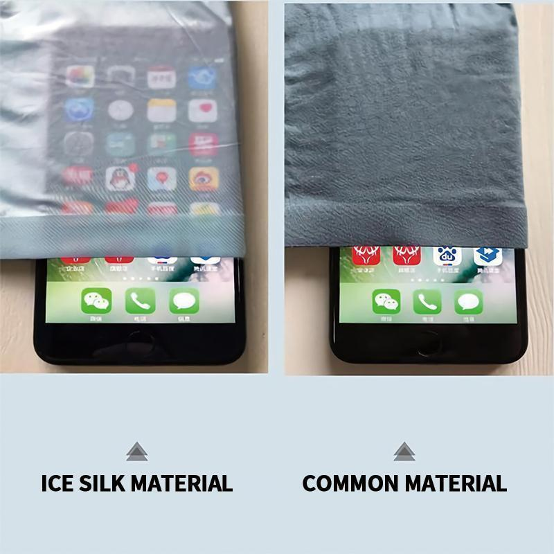 Male breathable underpants made of ice silk