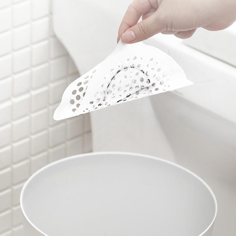 Disposable Filter Floor Drain Sticker