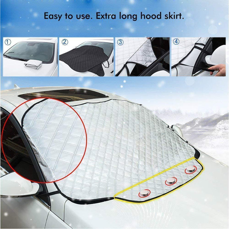 Hirundo® Magnetic Car Windshield Cover - mygeniusgift