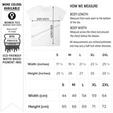 Anvil 880 women fitted graphic tee size chart