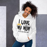 Gamer Mom Vintage Graphic Hoodie