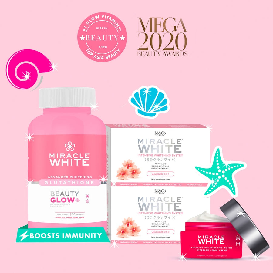 miracle white glow vitamins glutathione Philippines