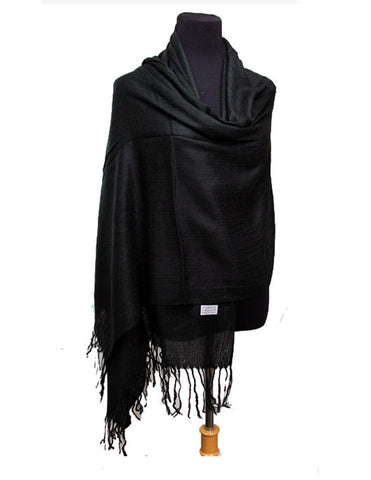 Solid Pashmina Scarf