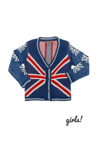 Union Jack Sweater Cardigan