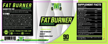 Load image into Gallery viewer, thermogenic fat burner pills supplement facts