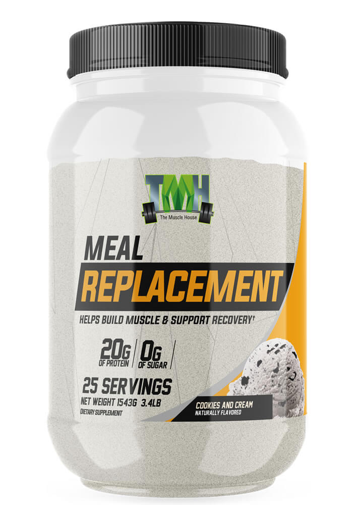 Cookies and Cream Meal Replacement supplement