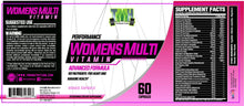 Load image into Gallery viewer, high performance women's multivitamin supplement facts
