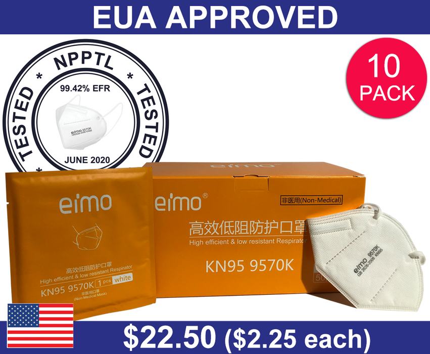 EIMO KN95 Mask (10 PACK)