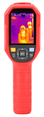 UTi165K Infrared Thermal Imaging Camera 30℃ - 45℃ Thermometer Professional Temperature Tester - PC  USB - Real-time Image Transmission