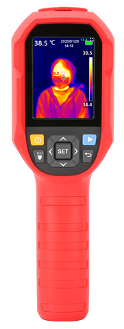 UTi85H Infrared Thermal Imaging Camera 30℃ - 45℃ Thermometer Professional Temperature Tester - PC USB - Real-time
