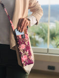 Rose Garden - Crossbody Phone Pouch