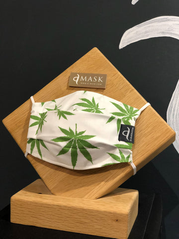 Cannabis - Handmade Reusable Eco-friendly Mask