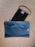 Jean Lightcoloured - Handmade Mask Pouch