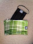Rockabilly Green - Handmade Mask Pouch