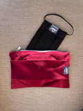 Ruby - Handmade Mask Pouch